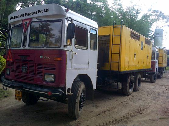 Mobile-Air-Compressor